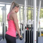 Cable Rope-grip Triceps Push-down End Position Fit Drills Exercise