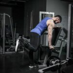 Standing Leg Curl End Position Fit Drills Exericse
