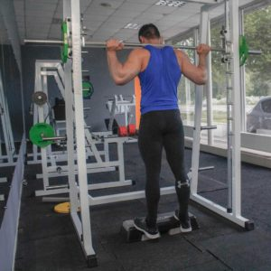 Smith Machine Standing Calf Raise Start Fit Drills Exercise