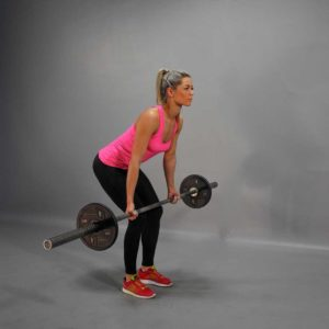 Barbell Reverse Grip Bent Over Row Start Fit Drills Exercise