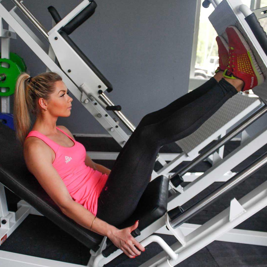 Leg Press Start Fit Drills Exercise