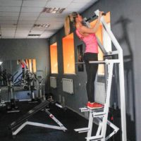 Assisted Standing Pull-Up Machine