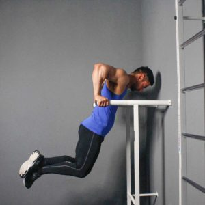Parallel Bar Dip End Fit Drills Exercise