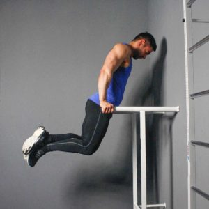 Parallel Bar Dip Start Fit Drills Exercise