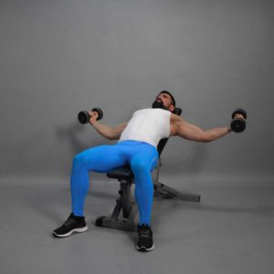 Incline Dumbbell Fly End Fit Drills Exercise