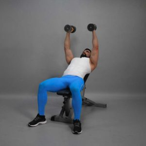 Incline Dumbbell Fly Start Fit Drills Exercise