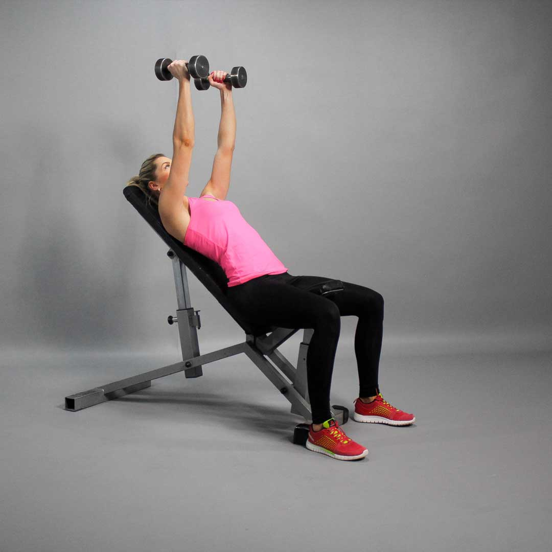Dumbbell Incline Bench Press Fit Drills Website