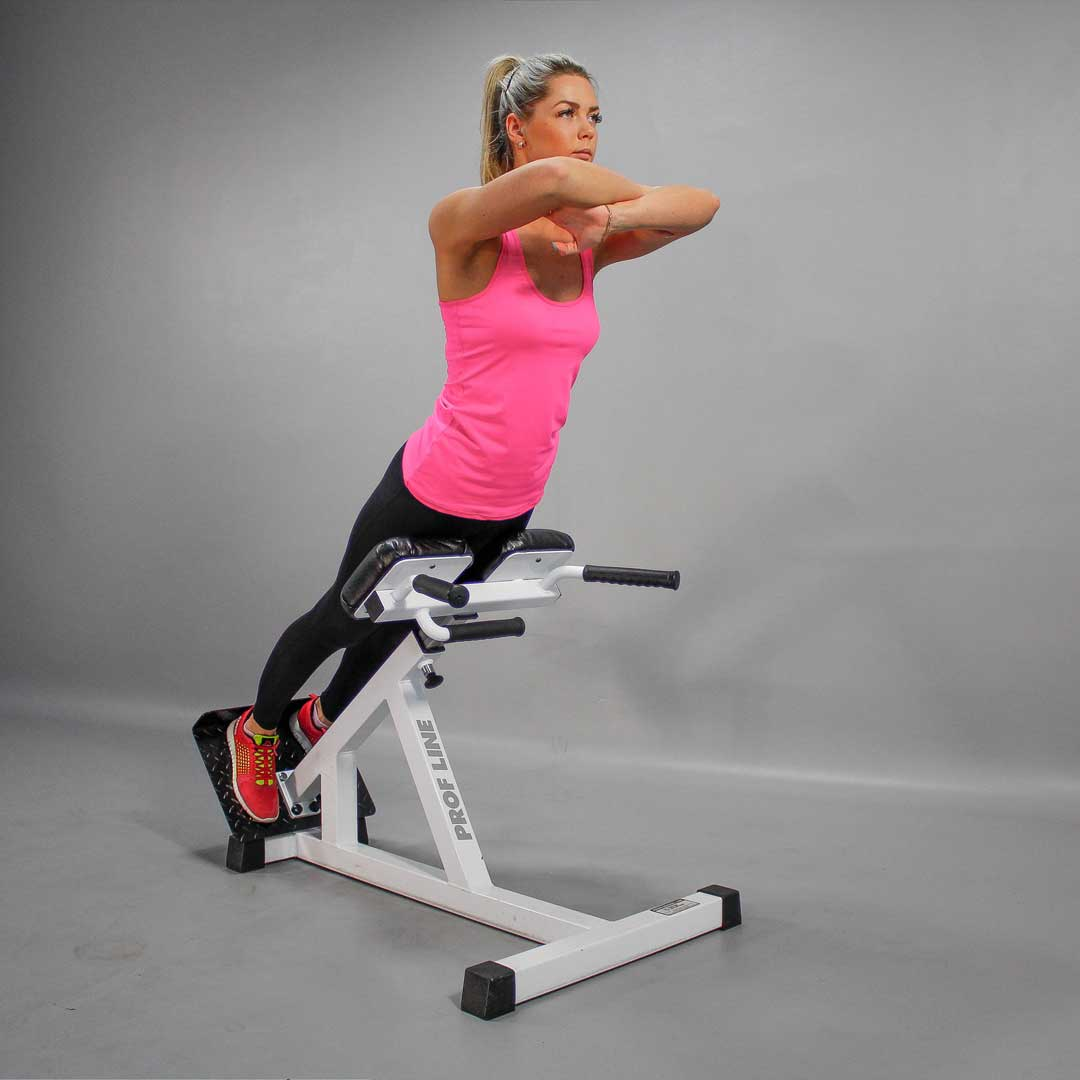 Roman Chair Hip Extension End Position Fit Drills Exercise