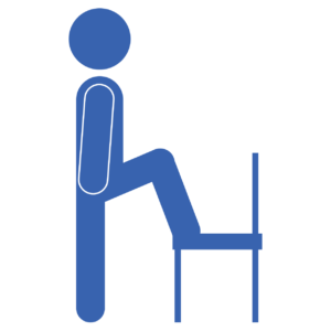 Chair Step Up Start Fit Drills Exercise