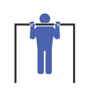 Shoulder Width Pull-Up End Fit Drills Exercise