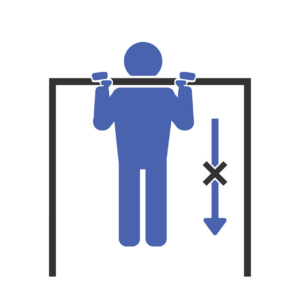 Pull-Up Hold End Fit Drills Exercise