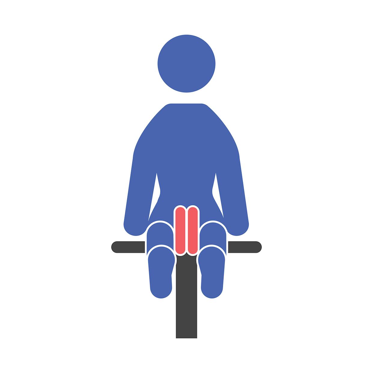 Leg Adduction Machine End Position Fit Drills Exercise